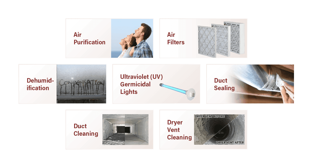 Indoor air quality services in Albany